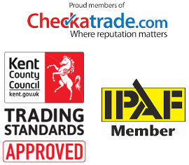 Gutter cleaning accreditations, checktrade, Trusted Trader, IPAF
